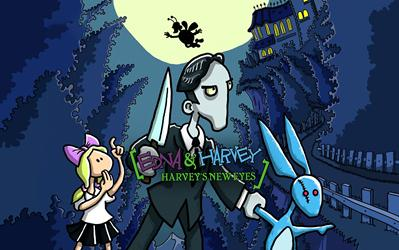 Edna & Harvey: Harvey's New Eyes cover