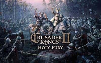 Crusader Kings II: Holy Fury cover