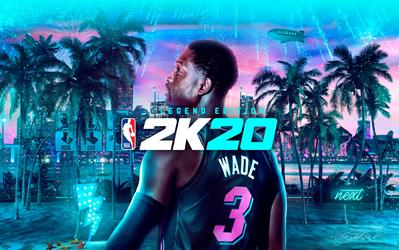 NBA 2K20 Legend Edition cover