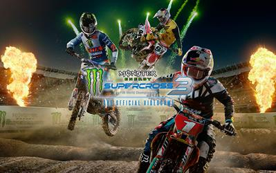 Monster Energy Supercross - The Official Videogame 3 cover