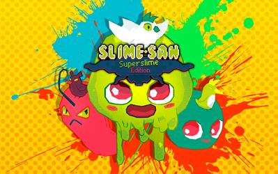 Slime-san Superslime Edition cover