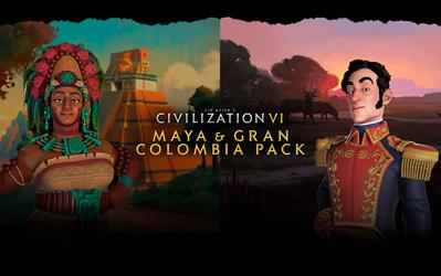 Sid Meier's Civilization® VI: Maya & Gran Colombia Pack (Mac - Linux) cover