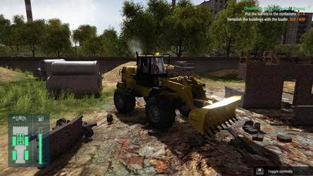 Construction Machines Simulator 2016 cover
