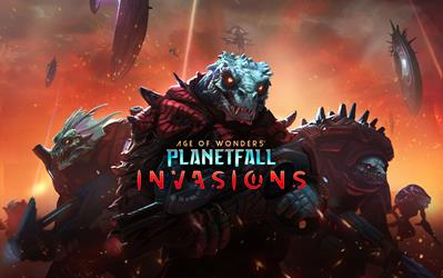 Age of Wonders: Planetfall Invasions cover