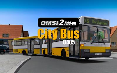 OMSI 2 Add-On Citybus O405/O405G cover