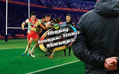 Rugby League Team Manager 2018 cover