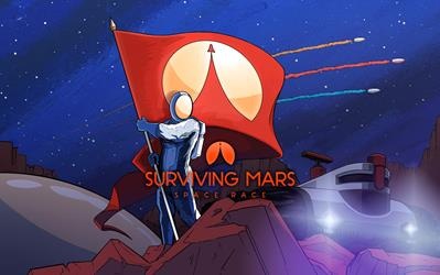 Surviving Mars Space Race Plus cover