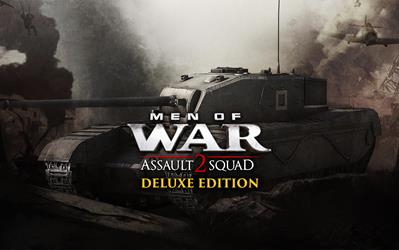 Men of War: Assault Squad 2 - Deluxe Edition Upgrade cover