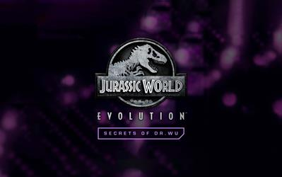 Jurassic World Evolution: Secrets of Dr Wu cover