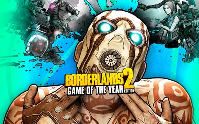 Borderlands 2 - Game of the Year Edition cover