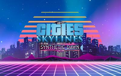 Cities: Skylines - Synthetic Dawn Radio cover