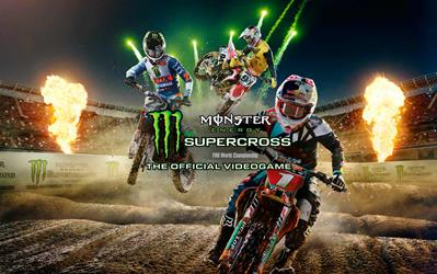 Monster Energy Supercross – The Official Videogame cover
