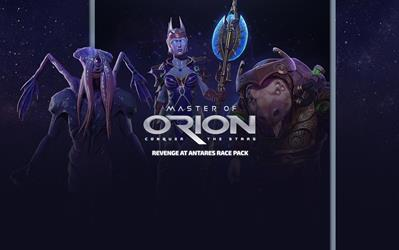 Master of Orion: Revenge at Antares Race Pack cover