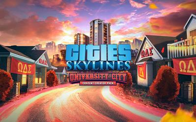 Cities: Skylines - Content Creator Pack: University City cover