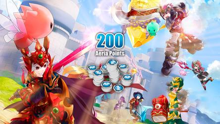 Grand Fantasia - 200 Aeria Points