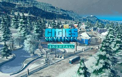 Cities: Skylines - Snowfall cover