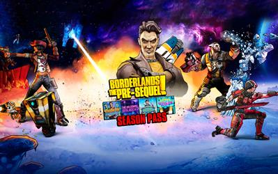 Borderlands: The Pre-Sequel Season Pass cover