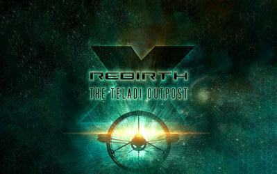 X Rebirth - The Teladi Outpost (DLC 1) cover