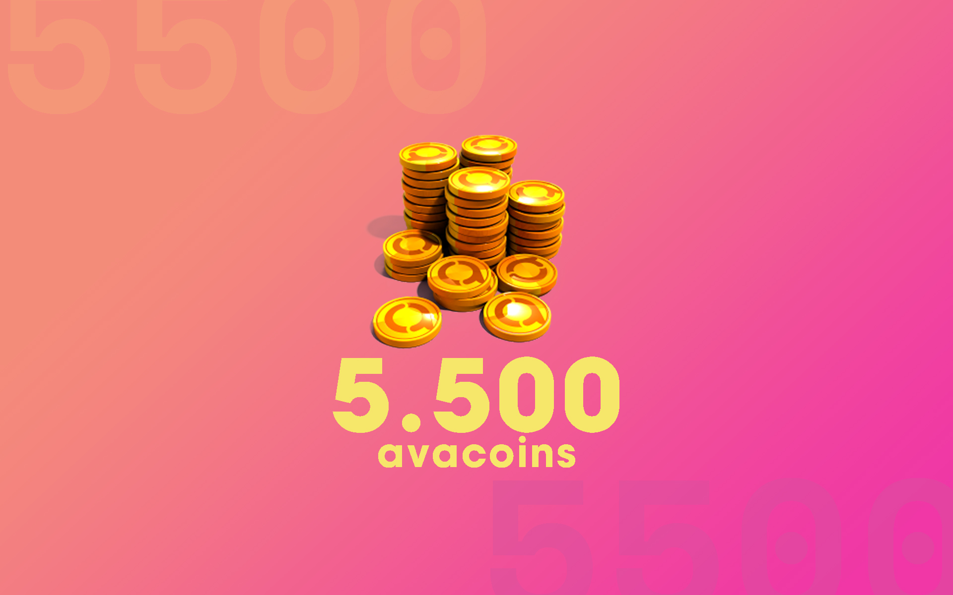 5.000 Avacoins cover
