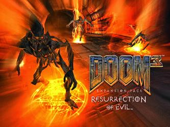 Doom 3 - Resurrection Of Evil cover