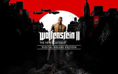 Wolfenstein II: The New Colossus Digital Deluxe Edition cover