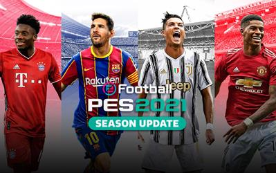 eFootball PES 2021 cover