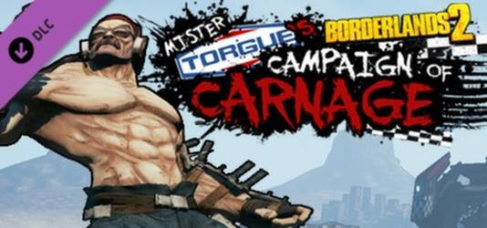 Borderlands 2: Mr Torgue's Campaign of Carnage - DLC (Mac) cover