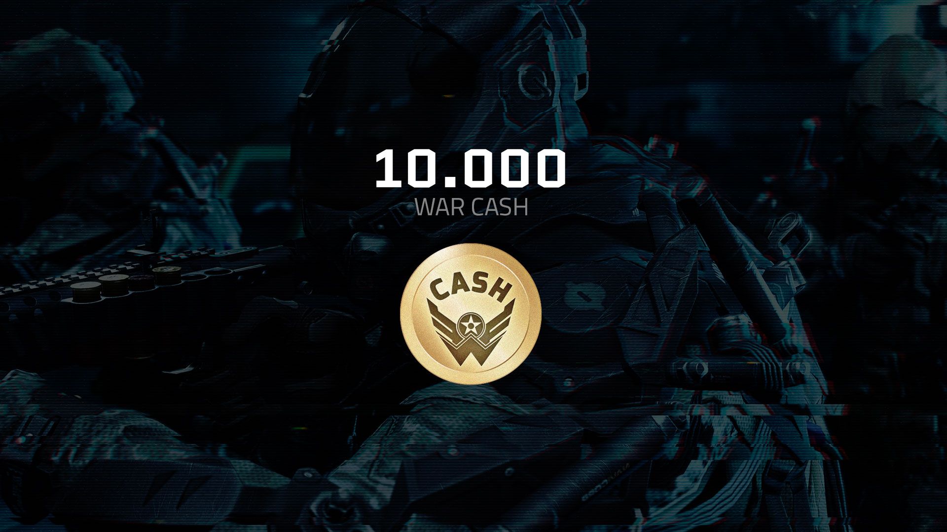 Warface – Pacote de 10,000 War CASH cover