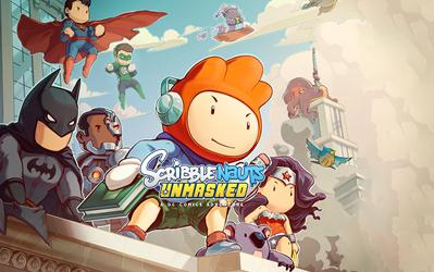 Scribblenauts Unmasked: A DC Comics Adventures cover