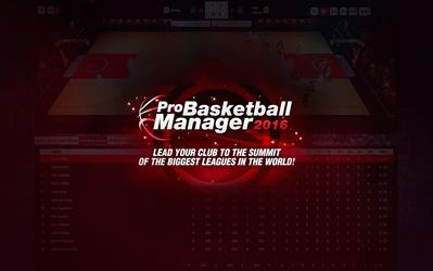 Pro Basketball Manager 2016 cover