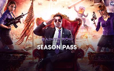 Saints Row IV - Season Pass cover