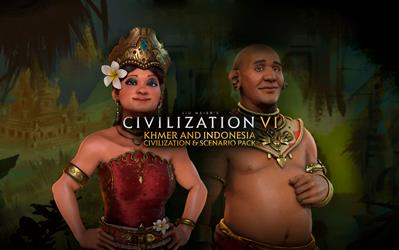 Sid Meier's Civilization® VI - Khmer and Indonesia Civilization & Scenario Pack cover