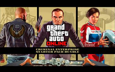 Grand Theft Auto V - Criminal Enterprise Starter Pack Bundle