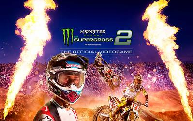 Monster Energy Supercross 2 cover