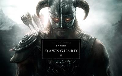 The Elder Scrolls V: Skyrim - Dawnguard (DLC) cover