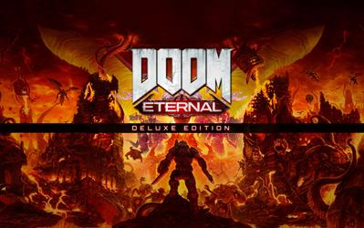 DOOM Eternal - Deluxe Edition cover
