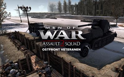 Men of War: Assault Squad 2 - Ostfront Veteranen (DLC) cover