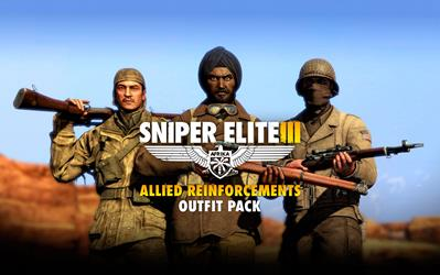 Sniper Elite III - Allied Reinforcements Outfit Pack (DLC) cover