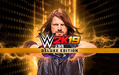 WWE 2K19 - Deluxe Edition cover