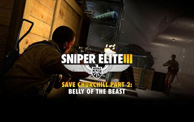 Sniper Elite III - Save Churchill Part 2: Belly of the Beast (DLC) cover