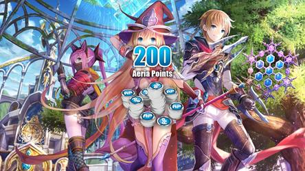 Aura Kingdom - 200 Aeria Points