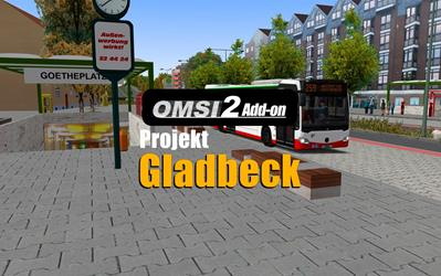OMSI 2 Add-on Projekt Gladbeck cover