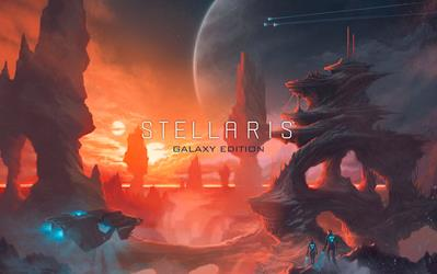 Stellaris - Galaxy Edition cover