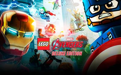 LEGO Marvel's Avengers Deluxe Edition cover