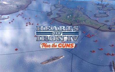 Hearts of Iron IV: Man the Guns cover