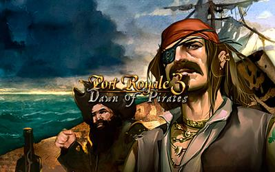 Port Royale 3 - Dawn Of Pirates (DLC) cover