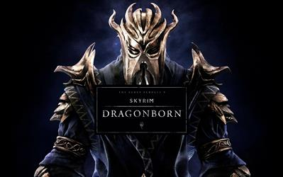 The Elder Scrolls V: Skyrim - Dragonborn (DLC) cover