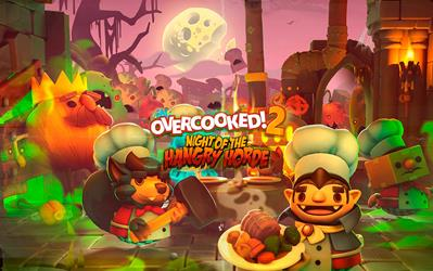 Overcooked! 2 - Night of the Hangry Horde (DLC) cover
