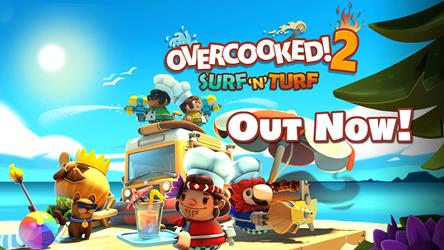 Overcooked! 2 - Surf 'n' Turf (DLC) cover