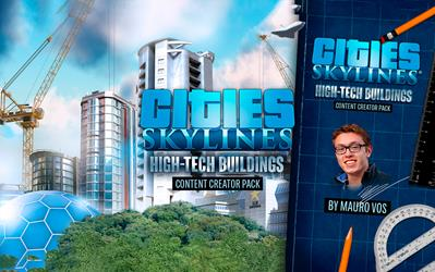 Cities: Skylines - Content Creator Pack: High-Tech Buildings cover